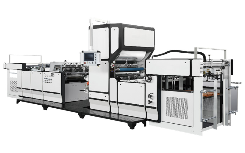 FM-E Automatic lamination machine with Chain knife